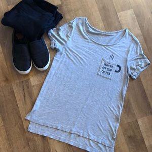 Soft high low T-shirt